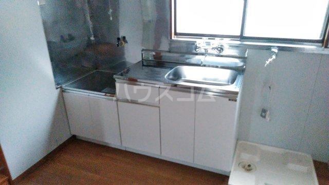 星ハイツ  201号室のキッチン