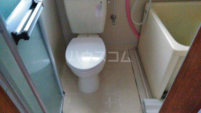 星ハイツ  201号室のトイレ
