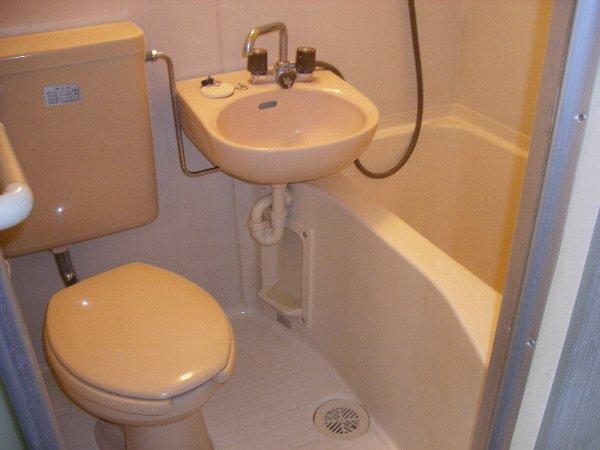 エステートピアアピカル国立 24号室の風呂