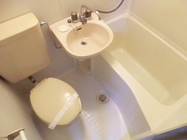 エステートピアアピカル国立 24号室の洗面所