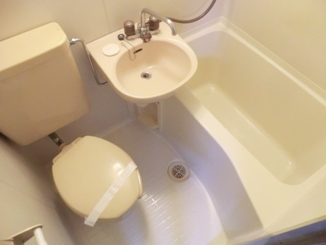 エステートピアアピカル国立 24号室のトイレ