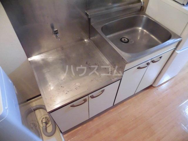 グリーンハイム志村2号棟 210号室のキッチン