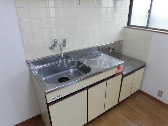 フラット国立B棟 105号室のキッチン