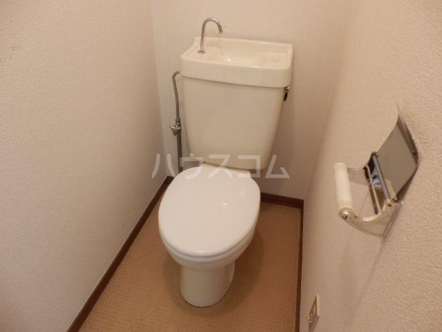 清和レジデンス2号棟 20A号室のトイレ