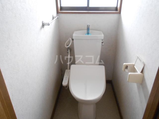 中1丁目貸家 201号室のトイレ