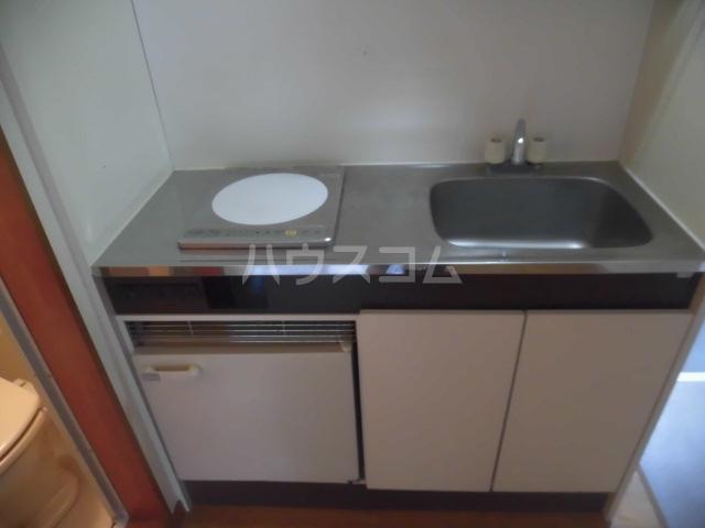 マリオン国立 201号室のキッチン