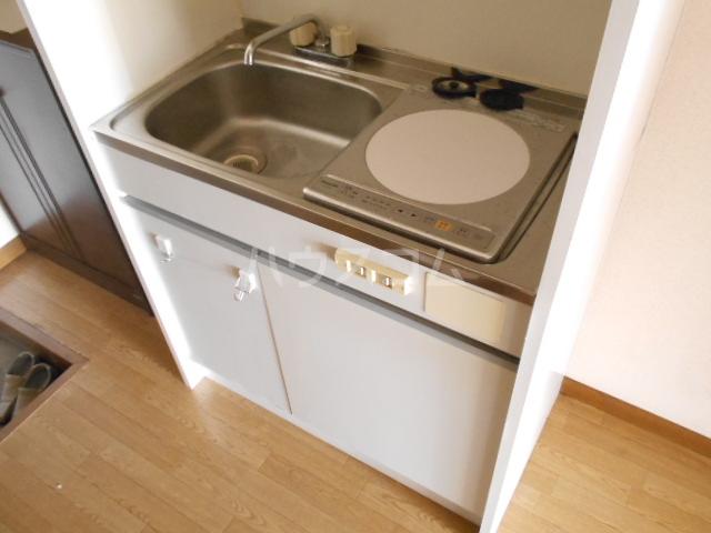グリーンエイト F号室のキッチン