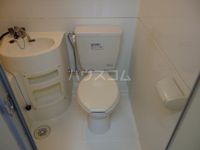 日生ハイム 208号室のトイレ