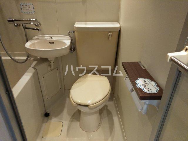 ニュースハイツ 201号室のトイレ