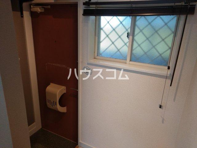 ニュースハイツ 201号室の玄関
