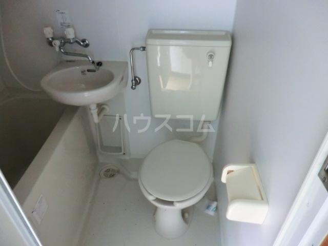 コーポ星野 102号室のトイレ