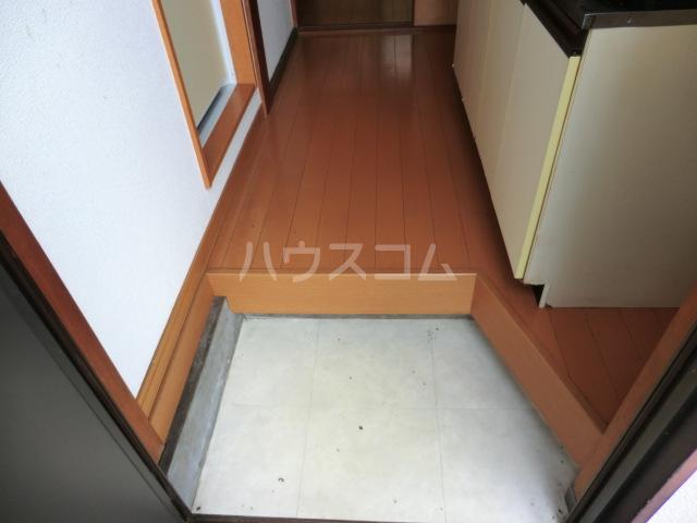 コーポ星野 102号室の玄関