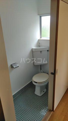 第六美多摩 202号室のトイレ