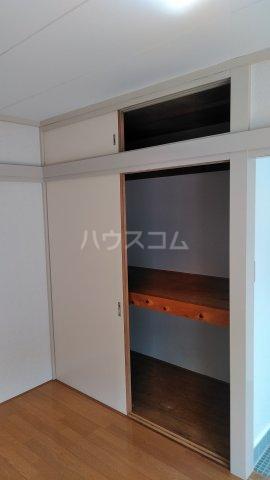 第六美多摩 202号室の収納