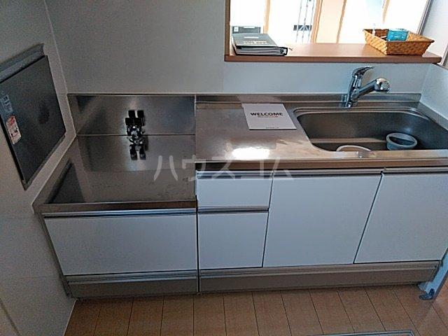 パストラル B 202号室のキッチン