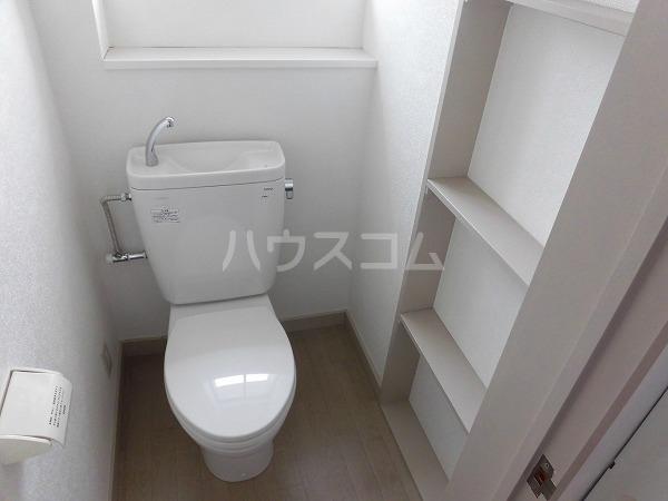 フラットKATO 206号室のトイレ