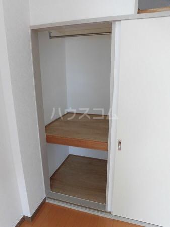 フラットKATO 206号室の収納