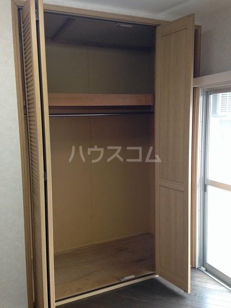 ロイヤルコスモ調布 204号室の収納