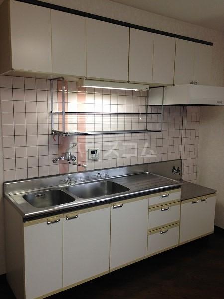 ロイヤルコスモ調布 204号室のキッチン