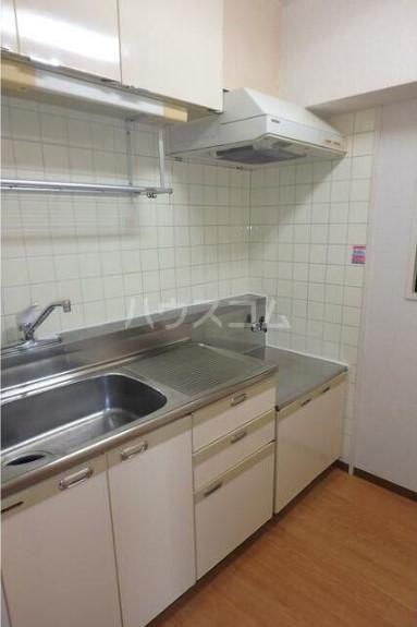 グレイスコート京王多摩川 203号室のキッチン
