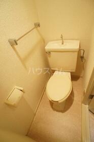 リバティ府中 102号室のトイレ