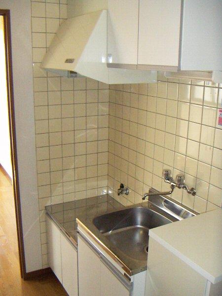 T.H.E.フォートクワハラ 301号室のキッチン