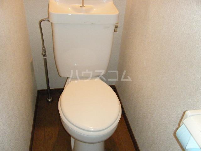 T.H.E.フォートクワハラ 301号室のトイレ