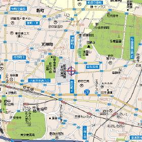 サァラ府中 109号室の地図
