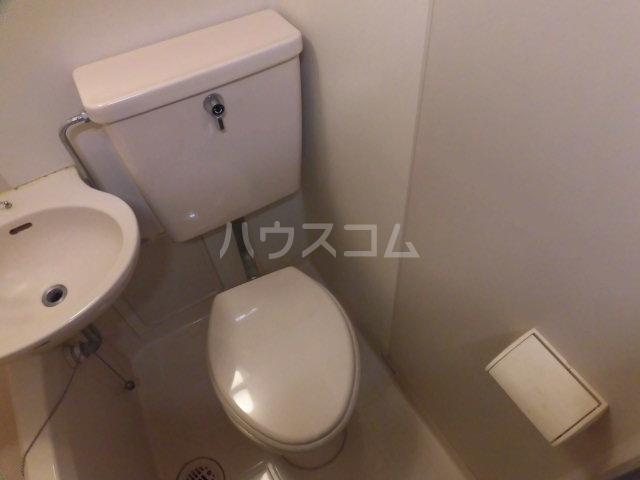 アメニティ ヒロ 2-A号室のトイレ