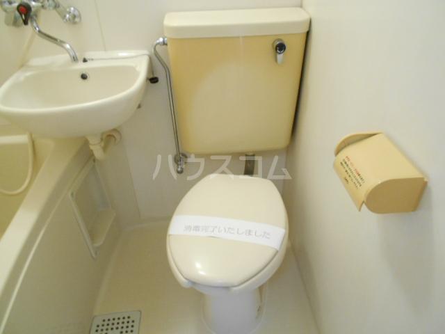 パールシャトーセキネ 102号室のトイレ