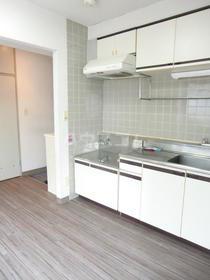 カルム 201号室のキッチン