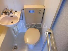 カルム 201号室のトイレ