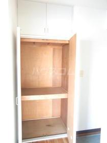 カルム 201号室の収納