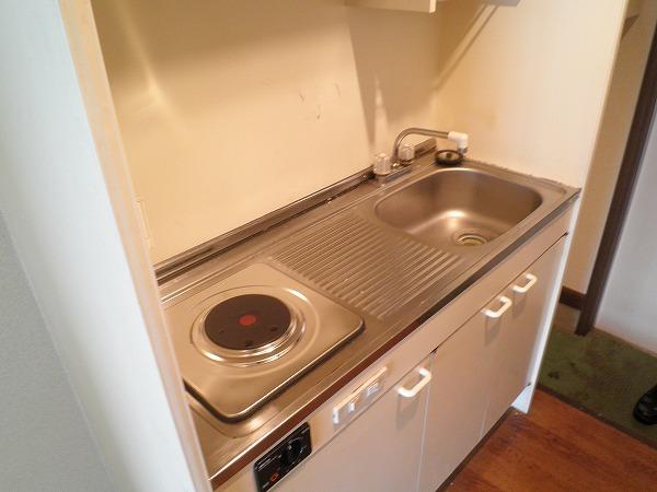 ブロントハウス 202号室のキッチン