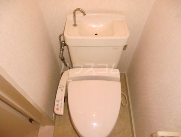ベアーズハイム 206号室のトイレ