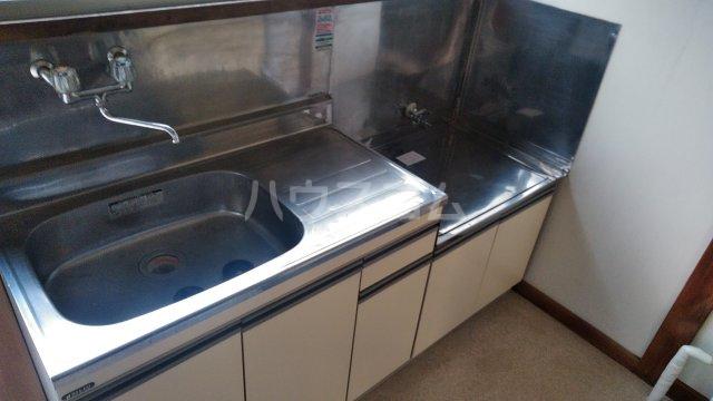 第二ゆたか荘 103号室のキッチン