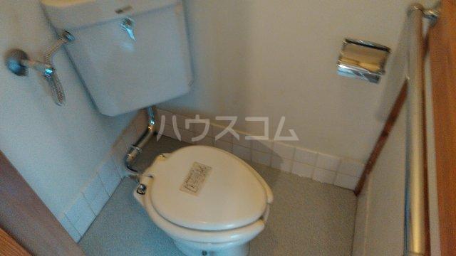 第二ゆたか荘 103号室のトイレ