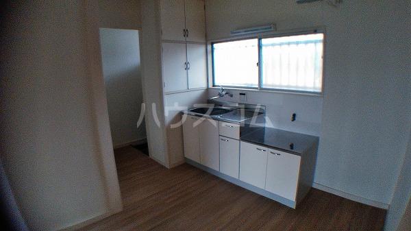 第2豊コーポ 201号室のキッチン