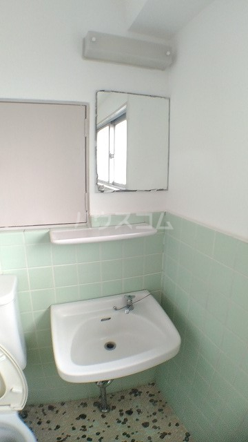 卯月アビタシオン 401号室の洗面所