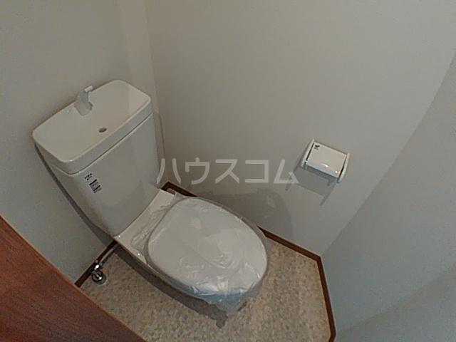 ファインミル調布 104号室のトイレ