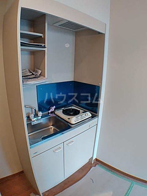ファインミル調布 104号室のキッチン