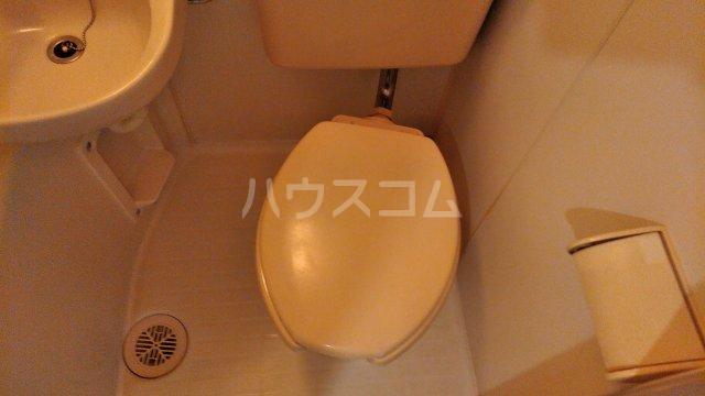 ベルトピア調布B棟 303号室のトイレ