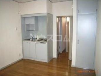 玉川コーポ 202号室のキッチン