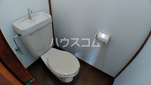 第2カネマツコーポ 201号室のトイレ