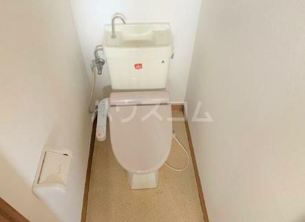 斎藤荘 202号室のトイレ