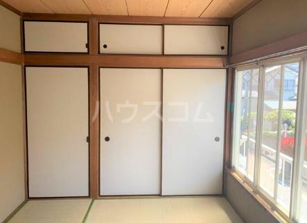 斎藤荘 202号室の収納