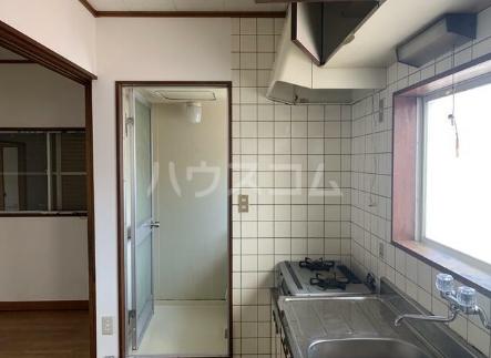 斎藤荘 202号室のキッチン