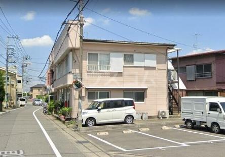 斎藤荘 202号室のエントランス