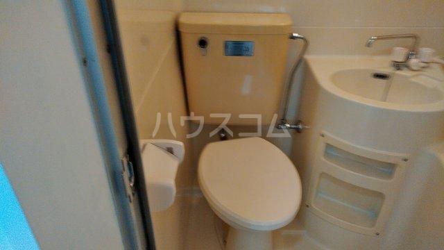 エンジェルハイツ 多摩川 101号室のトイレ