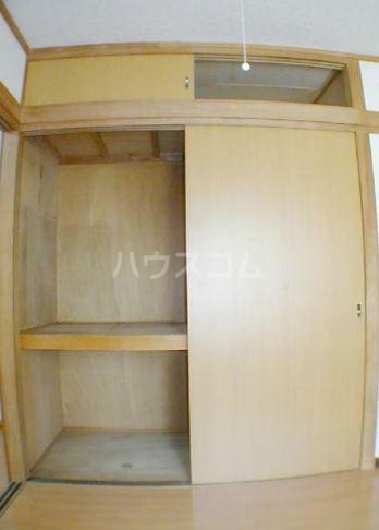 サンヴィレッヂノムラ 204号室の収納